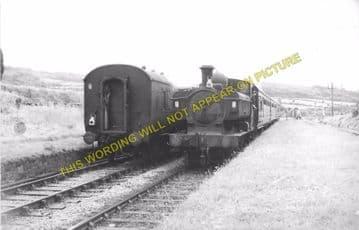 Derwydd Road Railway Station Photo. Llandebie - Ffairfach. Llandilo Line. (1)