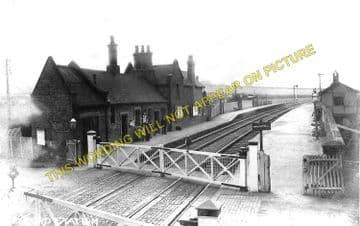 Desford Railway Station Photo. Bagworth & Ellistown to Ratby & Kirby Muxloe. (2)