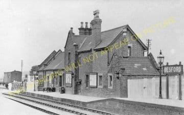 Desford Railway Station Photo. Bagworth & Ellistown to Ratby & Kirby Muxloe. (3)