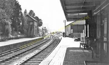 Devynock & Sennybridge Railway Station Photo. Cray - Aberbran. (10)
