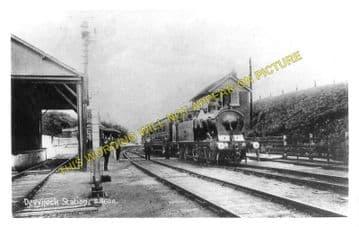 Devynock & Sennybridge Railway Station Photo. Cray - Aberbran. (2)