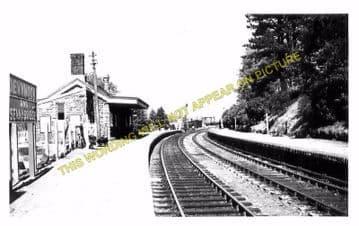 Devynock & Sennybridge Railway Station Photo. Cray - Aberbran. (4)