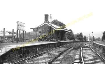 Devynock & Sennybridge Railway Station Photo. Cray - Aberbran. (8)