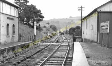 Devynock & Sennybridge Railway Station Photo. Cray - Aberbran. (9)