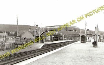 Dingwall Railway Station Photo. Conon to Foulis and Achterneed Lines. (1)..
