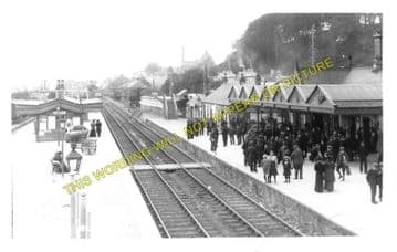 Dingwall Railway Station Photo. Conon to Foulis and Achterneed Lines. (3)