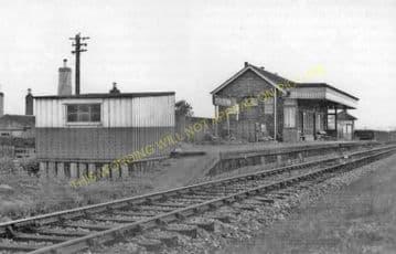 Dirleton Railway Station Photo. Drem - North Berwick. North British Railway (2)