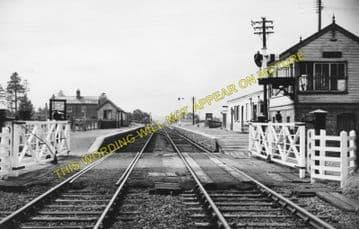 Dolau Railway Station Photo. Penybont - Llangunllo. Builth to Knucklas Line. (1)..
