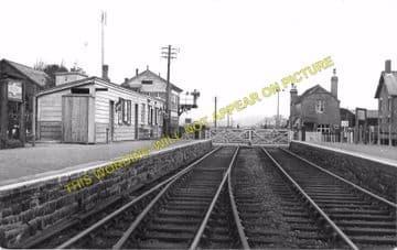 Dolau Railway Station Photo. Penybont - Llangunllo. Builth to Knucklas Line. (4)