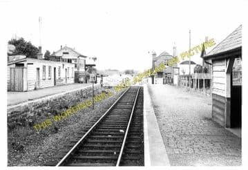 Dolau Railway Station Photo. Penybont - Llangunllo. Builth to Knucklas Line. (5)