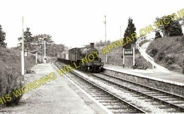 Doldowlod Railoway Station Photo. Newbridge - Rhayader. Builth to Moat Lane (1)