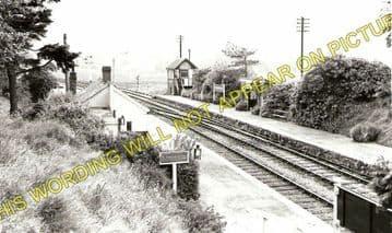 Doldowlod Railoway Station Photo. Newbridge - Rhayader. Builth to Moat Lane (2)