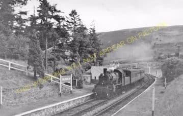 Doldowlod Railoway Station Photo. Newbridge - Rhayader. Builth to Moat Lane (3)