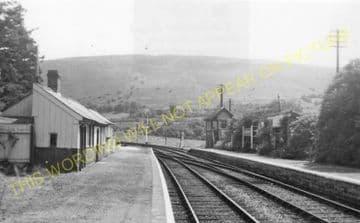 Doldowlod Railoway Station Photo. Newbridge - Rhayader. Builth to Moat Lane (5)