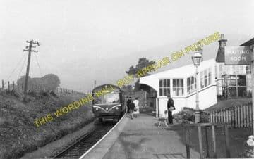 Dollar Railway Station Photo. Tillicoultry - Rumbling Bridge. Alloa Line. (2)