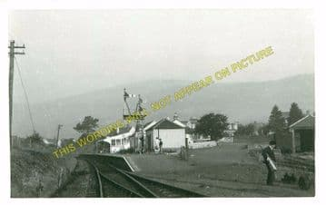 Dollar Railway Station Photo. Tillicoultry - Rumbling Bridge. Alloa Line. (3)