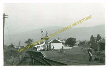 Dollar Railway Station Photo. Tillicoultry - Rumbling Bridge. Alloa Line. (3)