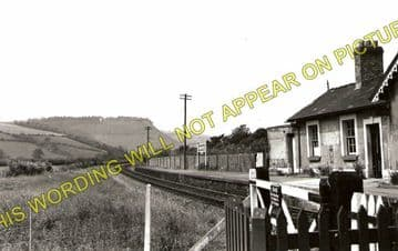 Dolwen Railway Station Photo. Llanidloes - Llandinam. Moat Lane Jct. Line. (1)