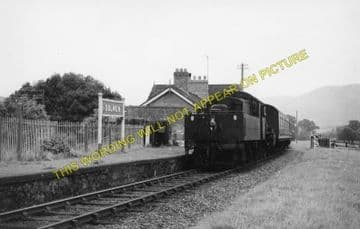 Dolwen Railway Station Photo. Llanidloes - Llandinam. Moat Lane Jct. Line. (2)