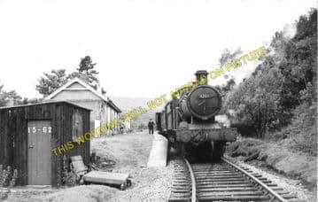 Dolygaer Railway Station Photo. Pontsticill - Pentir Rhiw. Brecon & Merthyr (2)