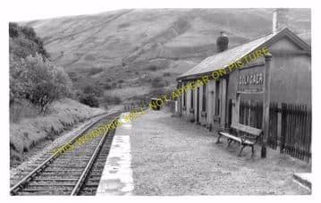 Dolygaer Railway Station Photo. Pontsticill - Pentir Rhiw. Brecon & Merthyr (3)