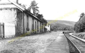 Dolygaer Railway Station Photo. Pontsticill - Pentir Rhiw. Brecon & Merthyr (4)