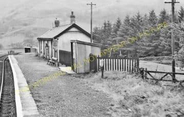 Dolygaer Railway Station Photo. Pontsticill - Pentir Rhiw. Brecon & Merthyr (6)