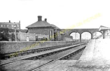 Donisthorpe Railway Station Photo. Moira - Measham. Shakerstone Line. (1).