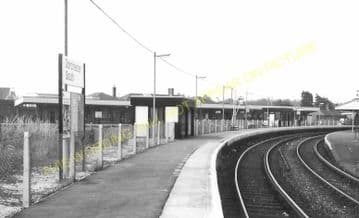 Dorchester South Railway Station Photo. Moreton and Wool Line. L&SWR. (21)