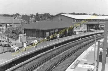 Dorchester South Railway Station Photo. Moreton and Wool Line. L&SWR. (22)