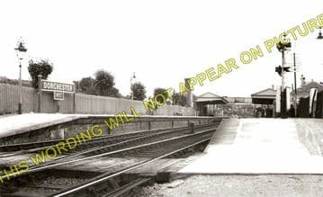 Dorchester West Railway Station Photo. Grimstone & Frampton Line. GWR. (1)