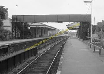 Dorchester West Railway Station Photo. Grimstone & Frampton Line. GWR. (10)