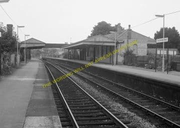 Dorchester West Railway Station Photo. Grimstone & Frampton Line. GWR. (12)