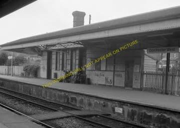 Dorchester West Railway Station Photo. Grimstone & Frampton Line. GWR. (13)