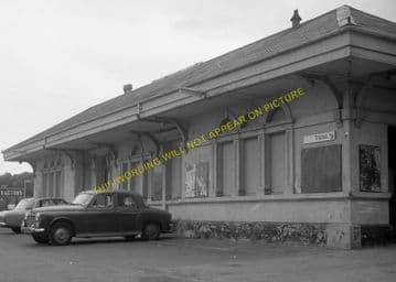 Dorchester West Railway Station Photo. Grimstone & Frampton Line. GWR. (17)