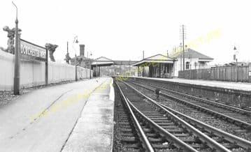 Dorchester West Railway Station Photo. Grimstone & Frampton Line. GWR. (28)