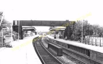 Dorchester West Railway Station Photo. Grimstone & Frampton Line. GWR. (29)