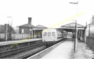 Dorchester West Railway Station Photo. Grimstone & Frampton Line. GWR. (30)