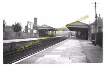 Dorchester West Railway Station Photo. Grimstone & Frampton Line. GWR. (6)