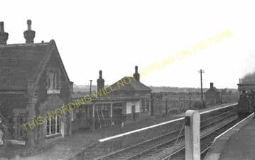 Dornock Railway Station Photo. Annan - Rigg. Gretna Green Line. G&SWR. (1)