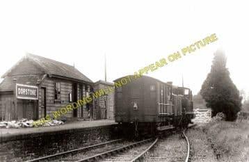 Dostone Railway Station Photo. Westbrook - Peterchurch. Pontrilas Line. (1)