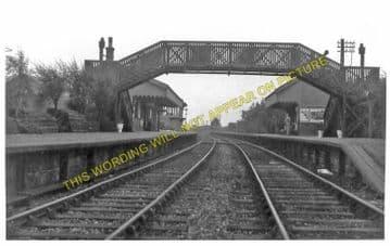Douglas West Railway Station Photo. Inches - Ponfeigh. Muirkirk to Lanark. (1).