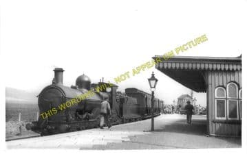 Dovey Junction Railway Station Photo. Machynlleth to Aberdovey & Borth Lines (9)