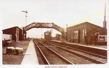 Drumlithie Railway Station Photo. Fordoun - Carmount. Stonehaven Line. (3)