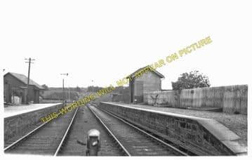 Drymen Railway Station Photo. Gartness - Caldavan. Balloch Line. NBR. (1)..