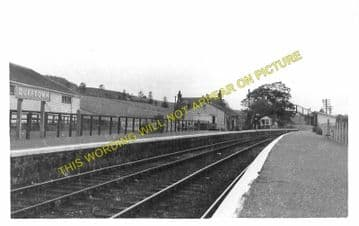 Dufftown Railway Station Photo. Craigellachie - Drummuir. Keith Line. GNoSR. (1).