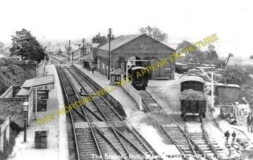 Dullingham Railway Station Photo. Newmarket - Six Mile Bottom. (2)..