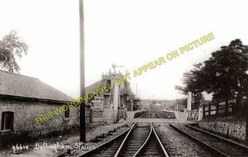 Dullingham Railway Station Photo. Newmarket - Six Mile Bottom. (3)