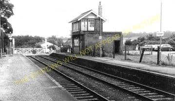 Dullingham Railway Station Photo. Newmarket - Six Mile Bottom. (6)