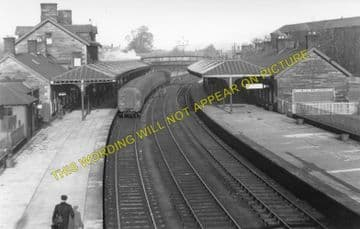 Dumfries Railway Station Photo. Glasgow & South Western Railway (2)
